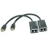 Nincs HDMI Extrender CAT6 30m