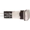 Schneider Electric Komplett jelzőlámpa, szögletes, fehér - Műanyag működtető- és jelzőkészülék-harmony 5-os sorozat-22mm - Harmony xb6 - XB6DV1BB - Schneider Electric
