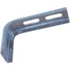 Metalodom Horganyzott oldalfali tartó konzol L 50x100 mm