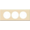 LEGRAND CELIANE Műanyag 3-as keret 57mm távolság IP20 Juhar 69219 - Legrand
