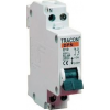 Tracon Electric Kismegszakító, 1+N pólus, C karakterisztika - 16A, 6kA DPN-C-16 - Tracon