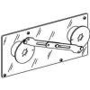 Schneider Electric Mechanikus reteszelés 2 db hosszabbított rotációs hajtással rendelkező készülékhez - Öntöttházas megszakítók 15-630a-compact ns 630a - Ns630b...1600 - 33890 - Schneider Electric