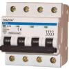 Tracon Electric Kismegszakító, 4 pólus, D karakterisztika - 6A, 6kA TDZ-4D-6 - Tracon