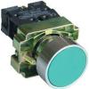 Tracon Electric Egyszerű nyomógomb, fémalapra szerelt, zöld - 1xNO, 3A/240V AC, IP42 NYGBA31Z - Tracon