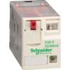 Schneider Electric Mini dugaszolható relé 4 váltó érintkező 3a 230vac - Interfész relék - Zelio relaz - RXM4GB2P7 - Schneider Electric