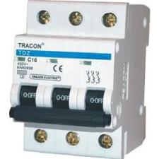 Tracon Electric Kismegszakító, 3 pólus, B karakterisztika - 25A, 6kA TDZ-3B-25 - Tracon villanyszerelés