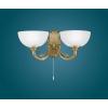 EGLO Fali lámpa 2x40W E14 húzókapcsolós bronz Savoy 82752 Eglo