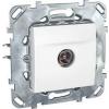 Schneider Electric UNICA PLUS TV aljzat Tv: 8 db @5...2150 mhz IP20 Fehér MGU50.462.18Z - Schneider Electric