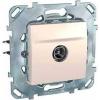 Schneider Electric UNICA PLUS TV aljzat végzáró Tv: 8 db @5...862 mhz IP20 Elefántcsont MGU50.467.25Z - Schneider Electric