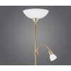 EGLO Álló lámpa 1x100W E27+1x40W E14 mag:178cm kapcsolós bronz UP2 82844 Eglo