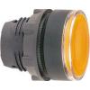 Schneider Electric Világító nyomógombfej sárga - Műanyag működtető- és jelzőkészülék-harmony 5-os sorozat-22mm - Harmony xb5 - ZB5AW35 - Schneider Electric