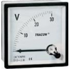 Tracon Electric Analóg egyenáramú voltmérő - 72x72mm, 120V DC DCVM72-120 - Tracon