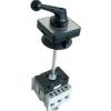 Tracon Electric Szakaszoló kapcsoló ajtókupplunggal - 400V, 50Hz, 40A, 4P, 11kW, 64x64mm TS-404K - Tracon