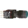 Schneider Electric Komplett világító nyomógomb, zöld - Műanyag működtető- és jelzőkészülék-harmony 5-os sorozat-22mm - Harmony xb6 - XB6AW3B1B - Schneider Electric