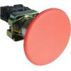 Tracon Electric Gombafejű vészgomb, fémalapra szerelt, piros - 1xNC, 3A/400V AC, IP42, d=60mm NYGBR42P - Tracon