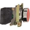 Schneider Electric Komplett nyomógomb, piros - Fém működtető- és jelzőkészülékek-harmony 4-es sorozat-22mm - Harmony xb4 - XB4BA42 - Schneider Electric