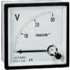 Tracon Electric Analóg egyenáramú voltmérő - 48x48mm, 600V DC DCVM48-600 - Tracon