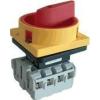 Tracon Electric Biztonsági lakatolható szakaszoló kapcsoló - 400V, 50Hz, 63A, 3P, 18,5kW, 64x64mm TSS-633 - Tracon