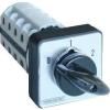 Tracon Electric Választókapcsoló, 0-1-2 - 400V, 50Hz, 32A, 2x4P, 11kW, 64x64mm, 60° TKB-3264 - Tracon