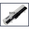 Eee PC 1005PXD 6600 mAh 9 cella fehér notebook/laptop akku/akkumulátor utángyártott