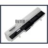 Eee PC 1005HA-VU1X-BU 6600 mAh 9 cella fehér notebook/laptop akku/akkumulátor utángyártott