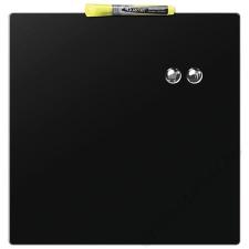 NOBO Üzenőtábla, mágneses, írható, fekete, 36x36 cm, NOBO