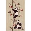 Zalakerámia Panda 2642-0274 dekorcsempe