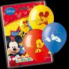 Disney lufik Mickey egér, Repcsik, Hét törpe, 10 db  (2.)