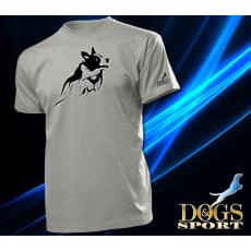 Dogs & Sport  Border collie férfi póló (férfi rövid ujjú póló )
