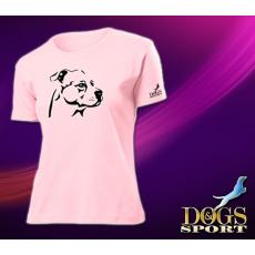 Dogs & Sport Staffordshire terrier női póló (Női rövid ujjú póló )