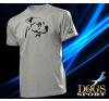 Dogs & Sport Staffordshire terrier férfi póló (Am staff férfi rövid ujjú póló ) férfi póló