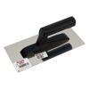 Glettelőkanál rozsdamentes (műanyag nyél) 13×27cm (Glettelőkanál)