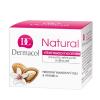 Dermacol Natural Almond Night Cream Női dekoratív kozmetikum tégely Éjszakai krém száraz bőrre 50ml
