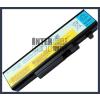 IdeaPad Y460AT 4400 mAh 6 cella fekete notebook/laptop akku/akkumulátor utángyártott