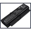 NBP4A112 2200 mAh 3 cella fekete notebook/laptop akku/akkumulátor utángyártott