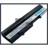 Toshiba PABAS219 4400 mAh 6 cella fekete notebook/laptop akku/akkumulátor utángyártott