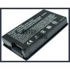 F80Q 4400 mAh 6 cella fekete notebook/laptop akku/akkumulátor utángyártott