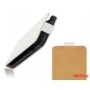CELLECT Sony Xperia E4G LTE Flip bőr tok,Fehér