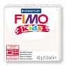 Gyurma, 42 g, égethető, FIMO Kids, fehér