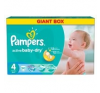 Pampers Active Baby 4 Maxi Giant Box Pelenka, 90 db pelenka