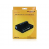 DELOCK CARD READER DELOCK USB 3.0 All in One 1+3 Port + USB 3.0 Hub (91721)