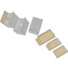 DONAU Archiváló konténer, levehetõ tetõ, 522x351x305 mm, karton, DONAU, kék-fehér (5 db)