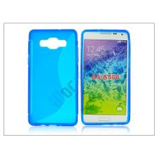 Samsung Samsung SM-A500 Galaxy A5 szilikon hátlap - S-Line - sky blue tok és táska