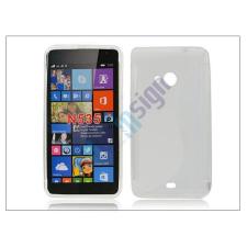 Microsoft Microsoft Lumia 535 szilikon hátlap - S-Line - transparent tok és táska