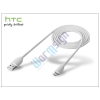 HTC gyári micro USB adatkábel - DC M410 white (csomagolás nélküli)