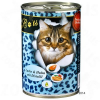 O'Canis for Cats 6 x 400 g - Nyúl, csirke & lazacolaj