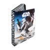 füzetbox A4 - STAR WARS - fekete