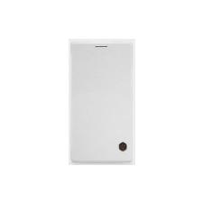 Nillkin Qin oldalra nyíló bőrbevonatos fliptok Huawei P8 Ascend-hez fehér* tok és táska