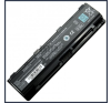 Toshiba PA5025U-1BRS 6600 mAh 9 cella fekete notebook/laptop akku/akkumulátor utángyártott toshiba notebook akkumulátor