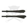 Laser Tools Levegős vésőszár klt. kipufogóhoz 2 db-os (LAS-6078)